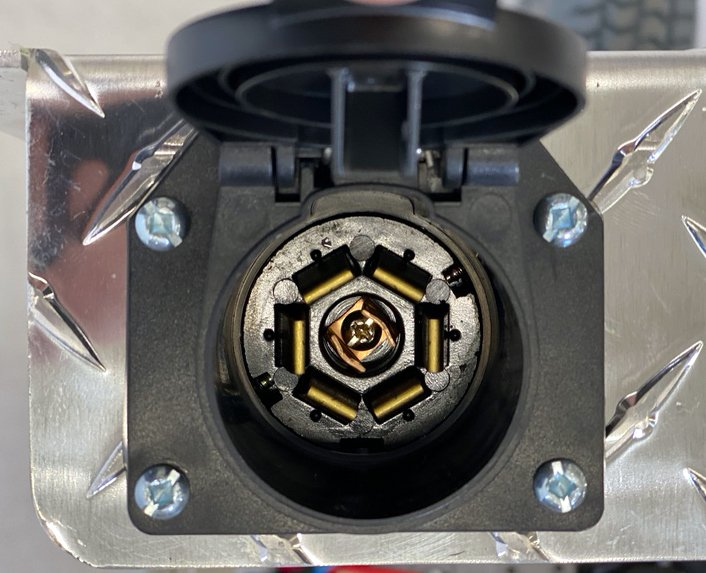 7way brake control and surge brake lock out adapter